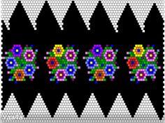 Systeme für den bandagierten Eier   biser.info - alles über die Perlen und Perlenarbeiten Bead Loom Patterns, Peyote Patterns, Beading Patterns, Crochet Ball, Bead Crochet, Beading Projects, Beading Tutorials, Crochet Beaded Bracelets, Just Cross Stitch