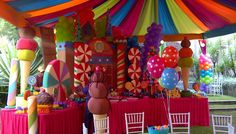 Candy land-a little over the top for a classroom, but so cute!!
