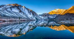 Peaceful Morning On Convict Lake by Robert Schmalle (California)