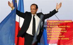 Francia: Un banchiere dei rothschild è il nuovo ministro.....