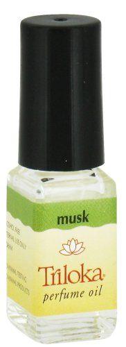 Musk - Triloka Perfume Oil - 1/8 Ounce Bottle #Triloka
