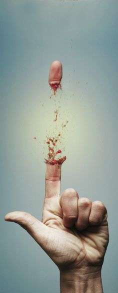 Dare to touch or I'll shoot! #Amazing #PhotoManipulation #Dare #Shoot