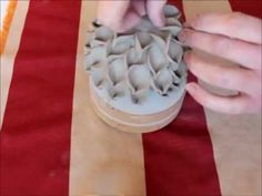 ▶ Keramik Blätter Kugel - YouTube
