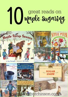 Sometimes winter can feel void of inspiration. We've found so much joy with tapping the maple trees in our front yard. Here's a post on how you can try maple sugaring at home too! Dramatic Play Themes, High School Reading, Sugar Bush, Toddler School, Kindergarten Books, Sugaring, Book Lists, Reading Lists, Children's Picture Books
