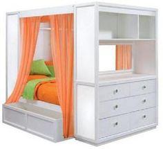 TweenNick The Retreat Full Loft Bed by Lea Industries