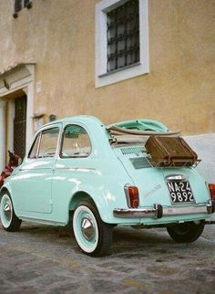 mini car, makes me think of Paris -repinned from Brett Allen