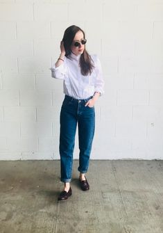 Loafers Outfit Summer, Girls Loafers, Loafers For Women, Summer Fashion For Teens, Fashion For Women Over 40, Summer Fashion Outfits, Lazy Outfits, Penny Loafers, Preppy Style