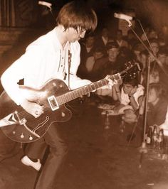 Steve Marriot with Small Faces