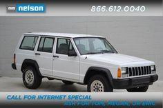 1992 Jeep Cherokee Sport Sport SUV 4 Doors White for sale in Tulsa, OK http://www.usedcarsgroup.com/tulsa-ok/1992-jeep-cherokee-1j4ft88s1nl114191.html