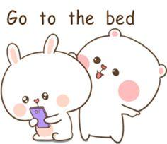 TuaGom : Puffy Bear & Rabbit by Tora Jung Cute Chibi Couple, Cute Couple Cartoon, Cute Love Cartoons, Cute Love Gif, Cute Cat Gif, Cute Bunny, Cute Cartoon Images, Cute Cartoon Wallpapers, Cute Bear Drawings