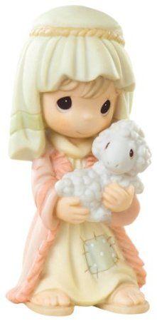 Precious Moments Nativity Series, Said The Little Lamb To The Shepherd Boy