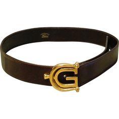 Vintage Gucci, Vintage Fashion, Mens Belts Fashion, Gucci Horsebit, Belt Buckles, 1990s, Vintage Outfits, Fashion Accessories, Gladiators
