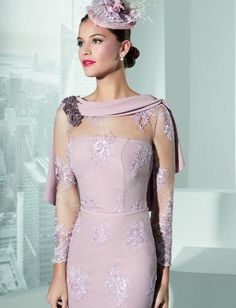 Franc Sarabia occasions dress and hat