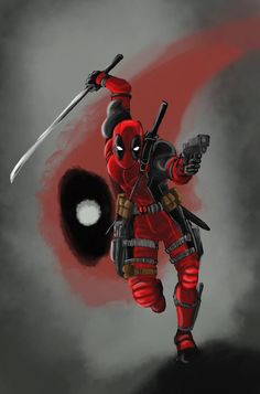 Deadpool - visit to grab an unforgettable cool Super Hero T-Shirt! Marvel Vs, Marvel Dc Comics, Marvel Heroes, Deadpool Love, Deadpool Funny, Man Thing Marvel, Marvel Characters, Marvel Universe, Thor