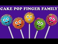 Cake Pop Finger Family Collection / Nursery Rhymes For Children / Nursery Rhymes Kids Songs Finger Family Song Lyrics: Daddy finger, daddy finger, where are . Baby Finger Song, Finger Rhymes, Sister Finger, Mommy Finger, Finger Family Song, Family Songs, Lollipop Candy, Candy Pop, Family Cake