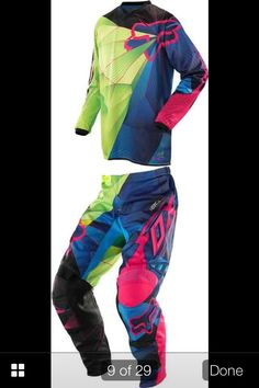 New 2014 fox racing gear. I will so have this!!!