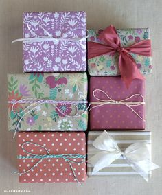 Mother's Day Gift Wrap and Tags