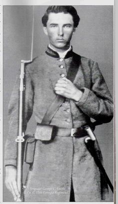12th Georgia soldier