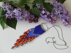 :) curata da Support and Promote Team su Etsy Diy Accessories, Handmade Necklaces, Handicraft, Nativity, Native American, Cool Things To Buy, My Etsy Shop, Beaded Necklace, Gift Ideas