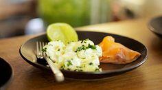 salade de pomme de terre et saumon - Fred Chesneau