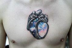 Galaxy Heart #tattoo
