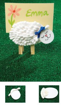 Use this Easter craft: Little Lambs to help children learn that Jesus is the good shepherd. Eid Crafts, Easter Crafts, Holiday Crafts, Projects For Kids, Crafts For Kids, Spring Arts And Crafts, Lamb Craft, Eid Decorations, Cute Lamb