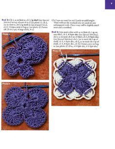 Solak Örenler Kulübü: Bavarian Crochet - Bavarya'dan Tığ örnekleri
