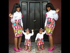 Beautiful Ankara Styles for Mother and Child, So Lovely
