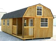 12' x 32', dual loft, Weather King portable cabin. - direct site: http://www.weatherking.biz/index.aspx