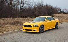 Dodge Charger SRT8 Super Bee-wifeys car haha:)