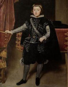 Velasquez: Baltasar Carlos di Spagna