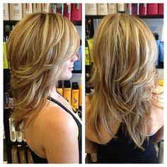 Kurze bis mittlere Frisuren für feines Haar