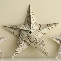 5 Point Paper Stars