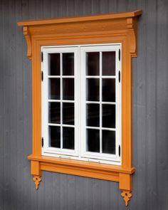 Exterior Cladding, Exterior Trim, House Shutters, Door Design Interior, Red Cottage, Grey Room, Log Homes, Facade, Windows