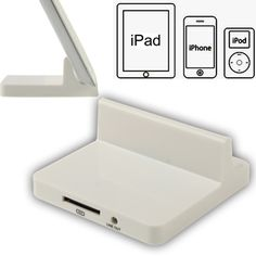 [USD2.25] [EUR2.14] [GBP1.67] USB Data Charge Sync Dock Station Stand Charger for New iPad (iPad 3)/iPad 2 / iPad / iPhone 4 & 4S / 3GS/ 3G / iPod(White)