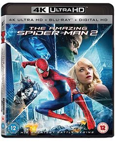 Amazing Spiderman 2 (Dvd 2014) @ niftywarehouse.com