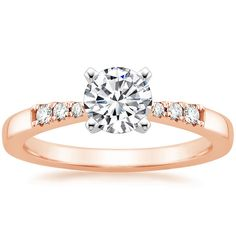 14K Rose Gold Dolce Diamond Ring from Brilliant Earth
