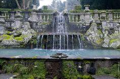 Jardines Villa Lante en Bagnaia,Italia