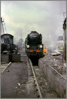34004 'Yeovil' Bournemouth Engine Shed