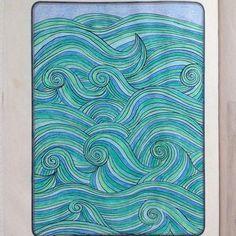 #wave#wellen#water#wasser#sea#meer#blue#blau#mindfulnesscolouringbook#emmafarrarons#happinezmagazine#adultcoloringbook#colouringforadults#malbuchfürerwachsene#erwachsenenmalbuch#joy#freude#drawing#ausmalen#mindfulness#achtsamkeit#happiness#meditation#art#kunst#zeichnung#illustration#buntstifte#coloredpencil#bild