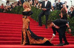 Beyoncé en la alfombra roja de la gala MET 2013 en Nueva York