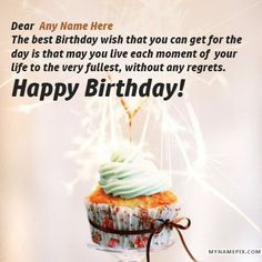 Birthday Wishes For Lover With Name Qoutes Pictures
