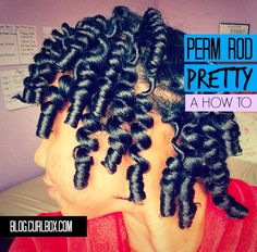 PERMROD tuturiol for big fluffy curls ill be doing this with smaller ones