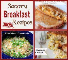 Savory Breakfast Recipes 14 Breakfast Recipes for Christmas Morning
