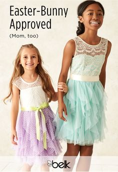 Dress the kids in their Sunday best with our Easter-Bunny approved dresswear and sets for girls and boys. Kids will love the happy spring colors on dresses, suits and accessories (and Mom will, too). Shop our picture-perfect kids' dresswear in stores or at belk.com (and have the cutest Easter ever!)