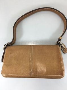Coach Demi Legacy Lt Brown Hobo Shoulder Bag Adjustable Strap 9848 Handbag w Tag #Coach #Hobo