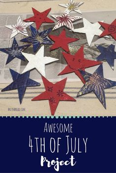 Such a fun of July activity - just cut some stars from a shipping box, paint and glitter. String them up for a fun decoration. Fourth Of July Food, Shipping Boxes, New Moms, Memorial Day, Crafts For Kids, Glitter, Memories, Activities, Stars
