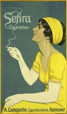 vintage cigarettes ad