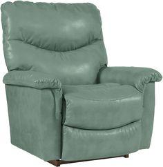 010521 in by La-Z-Boy in Dyersburg, TN - James Reclina-Rocker® Recliner Boys Furniture, Furniture Ideas, La Z Boy, Support Pillows, Chair Backs, Power Recliners, Rocking Chair, Seat Cushions, Home Furnishings
