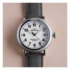 Shinola, Chocolate Shop, Watch Brands, Cool Watches, Classic, Flowers, Leather, Cool Clocks, Chocolate Boutique